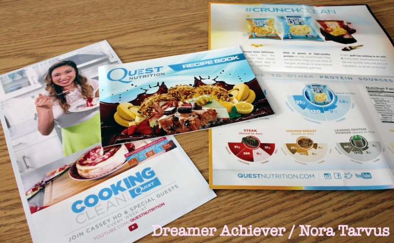DreamerAchieverQuestReviewRecipebooksetc
