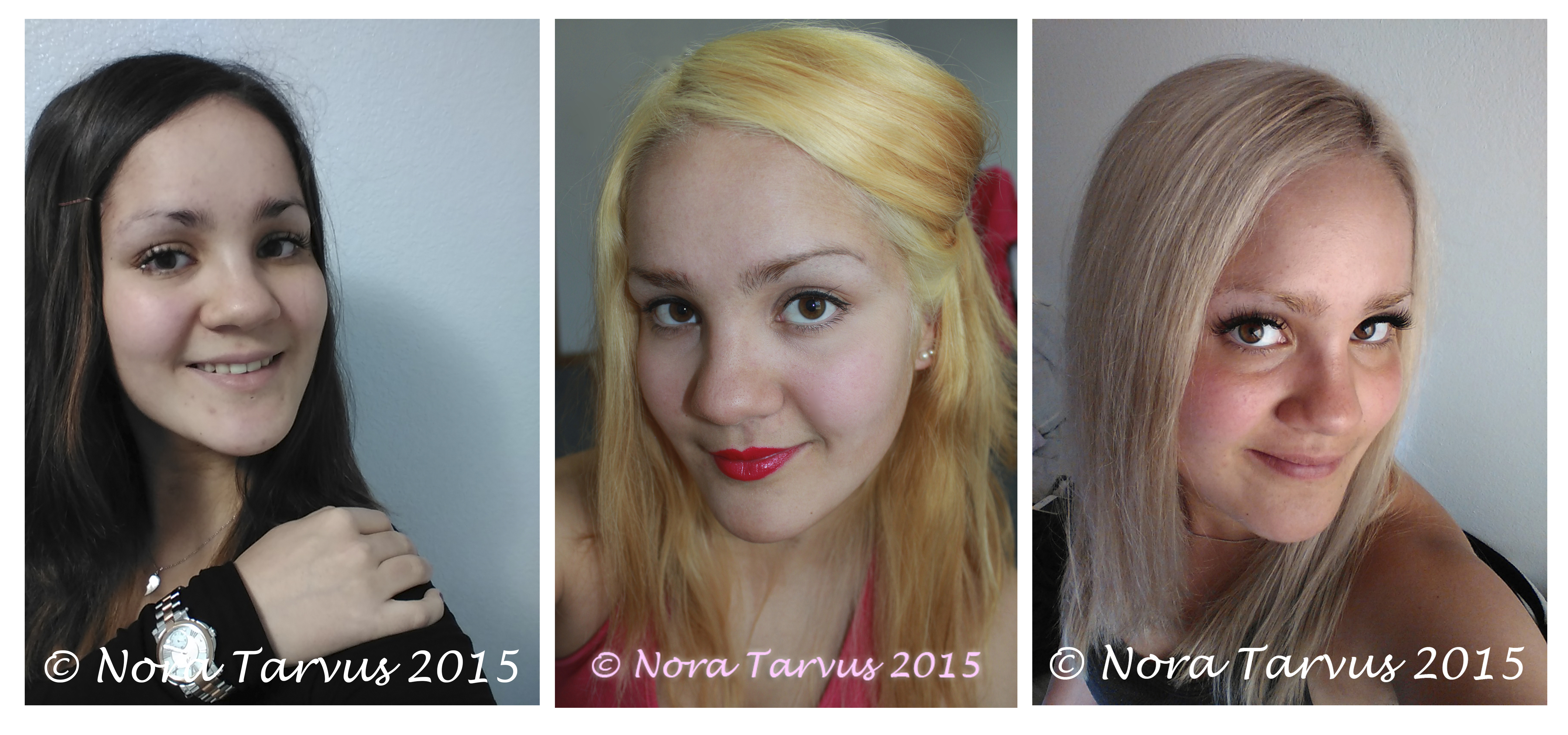 My Hair Story From Dark Brunette To Gorgeous Blonde