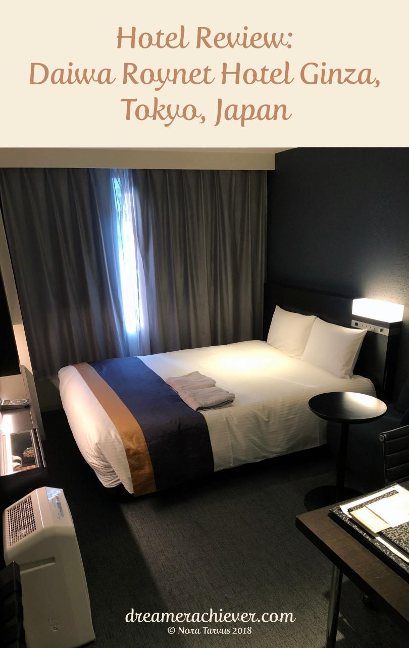 Daiwa Roynet Hotel Ginza Tokyo Japan Hotel Review Pin