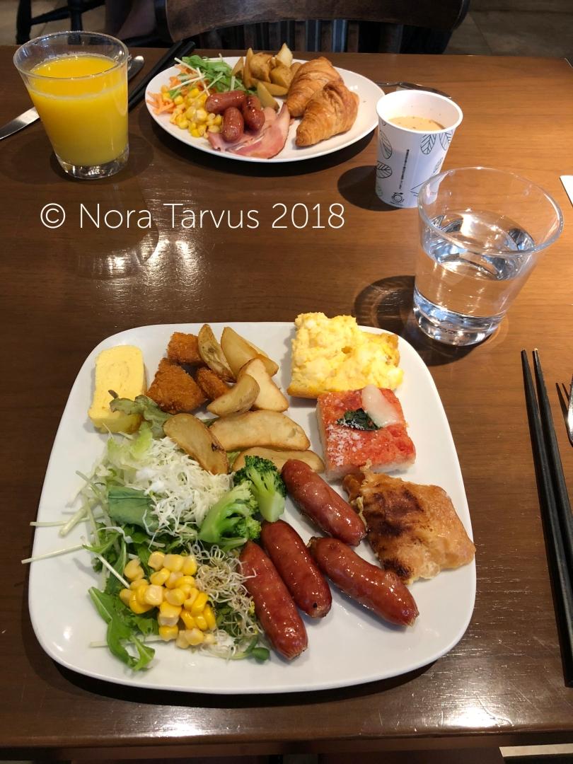 Daiwa Roynet Hotel Ginza Tokyo Japan Hotel Review 2 Breakfast