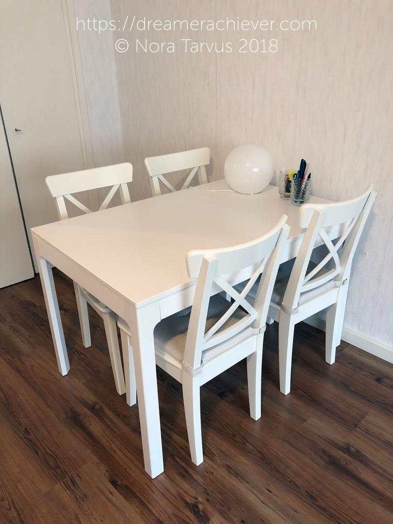 Scandinavian Home Decoration Dining Area