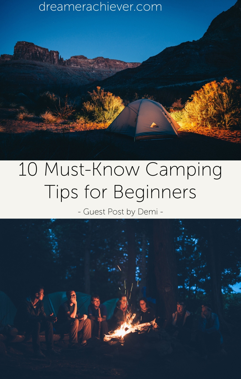 10 Must-Know Camping Tips for Beginners