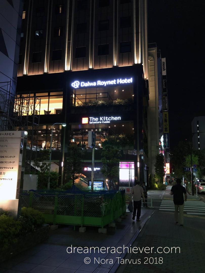 Daiwa Roynet Hotel Ginza Tokyo Japan Hotel Outside